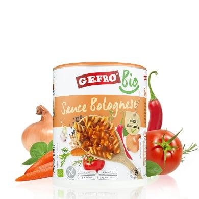 Produkt der Woche: BIO Sauce Bolognese - Gefro   Gutscheincode oder Rabatt sichern!