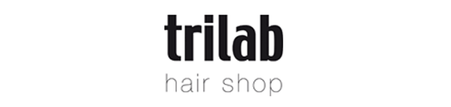 Trilab Hair Shop Logo